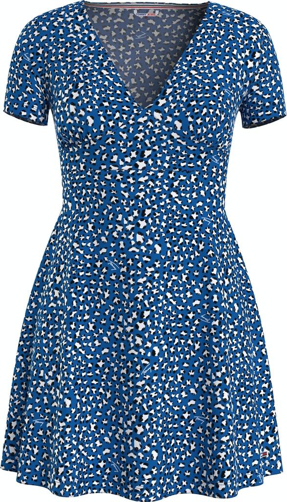 Leo Print Dress