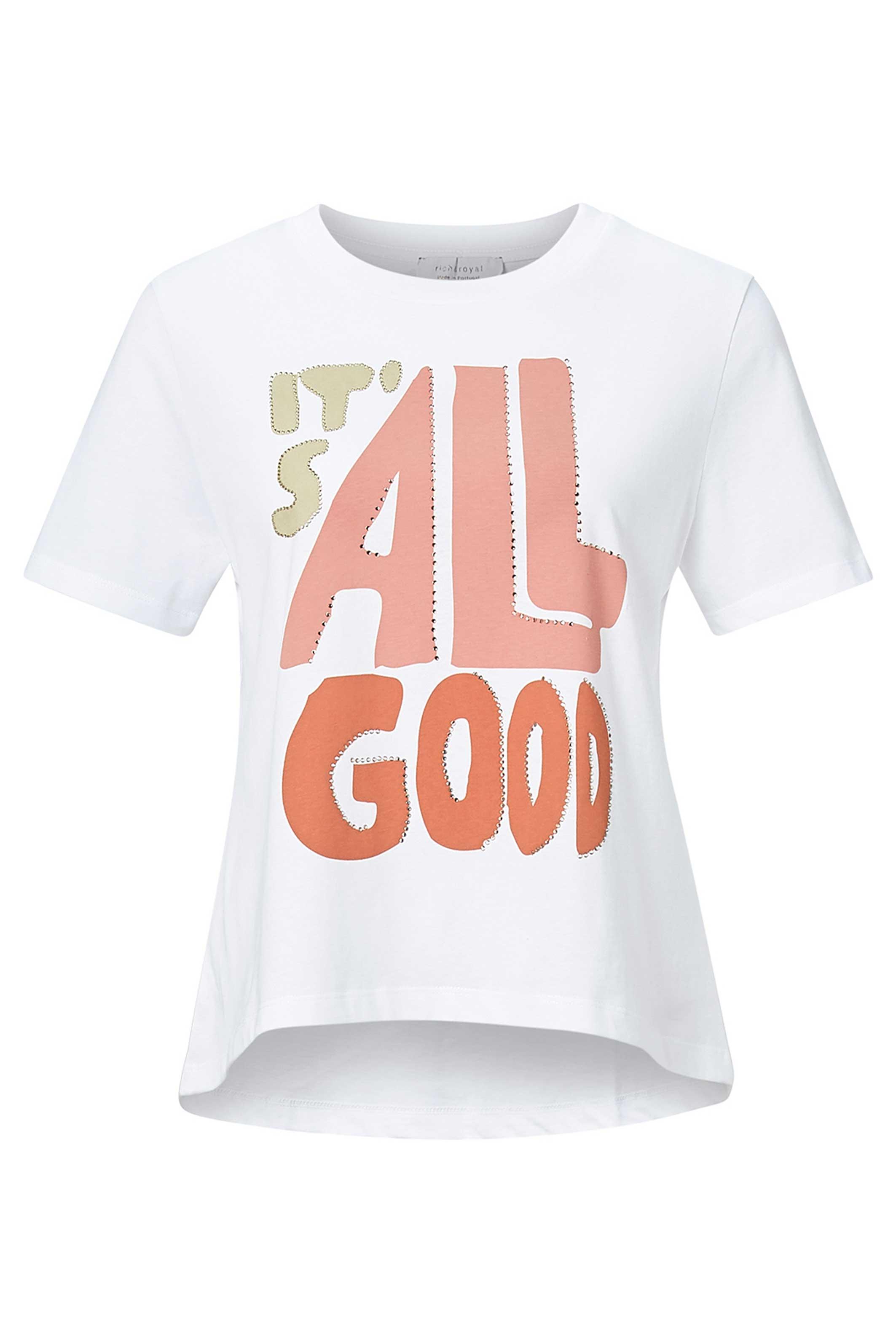 T-Shirt mit  It´s All Good Print