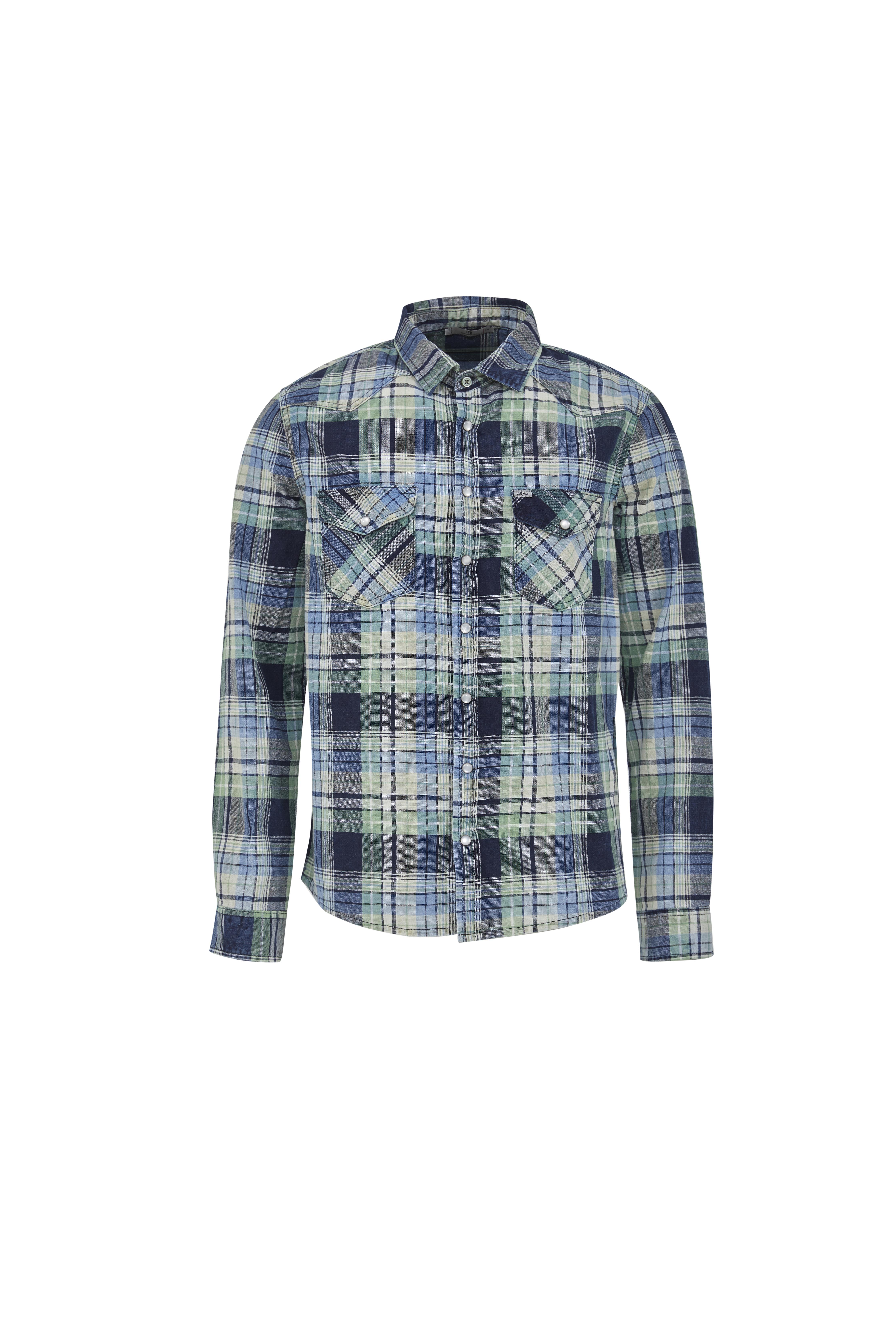 Hemd mit Check Muster