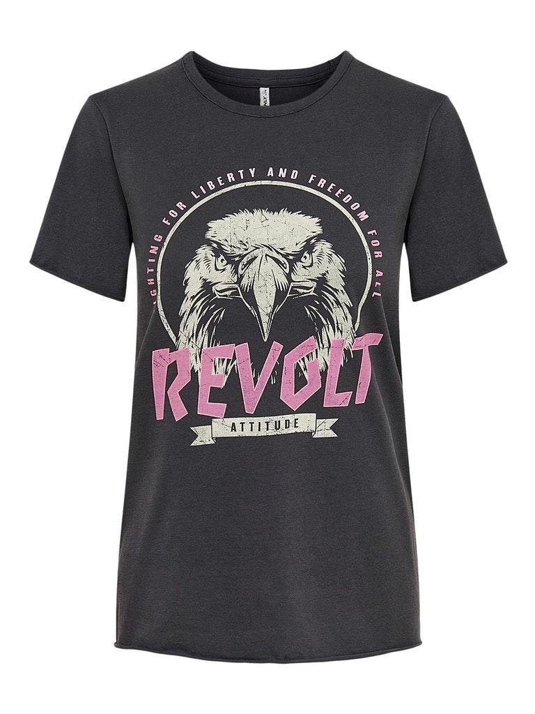"T-Shirt mit Print ""Lucy"""