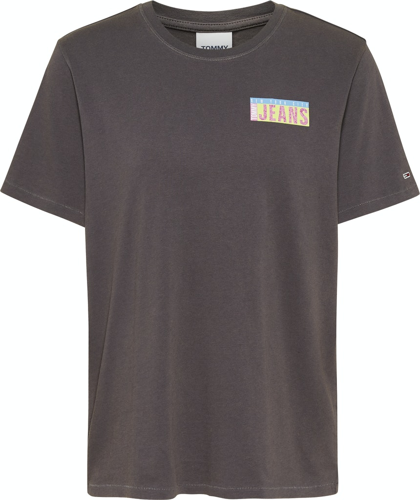 Relaxed Miami Back Print Shirt