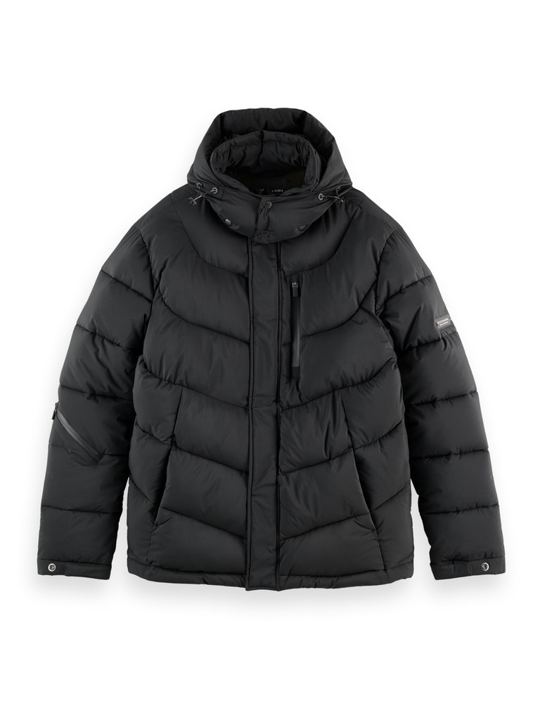 Hooded Water Repellent Puffer Jacket