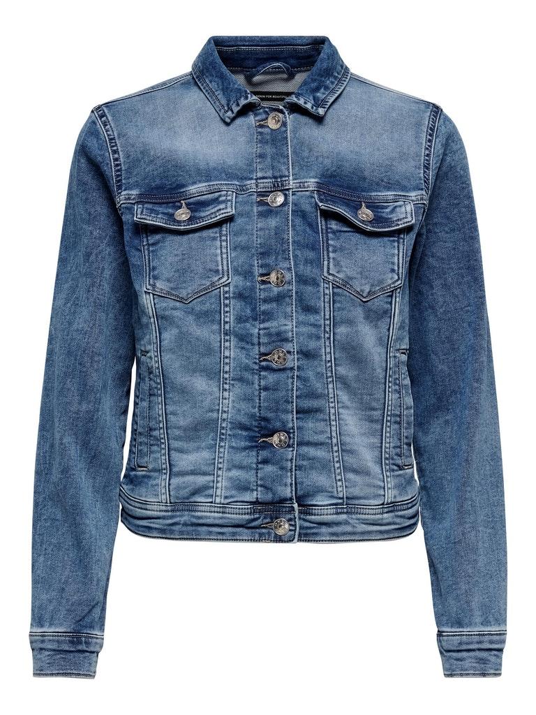 "Denim Jacket ""Tia"" Mid Blue"