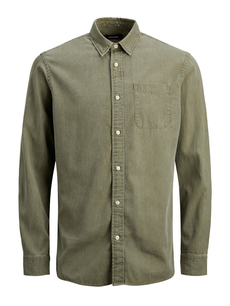 Langarm Hemd aus Lyocell TENCEL™