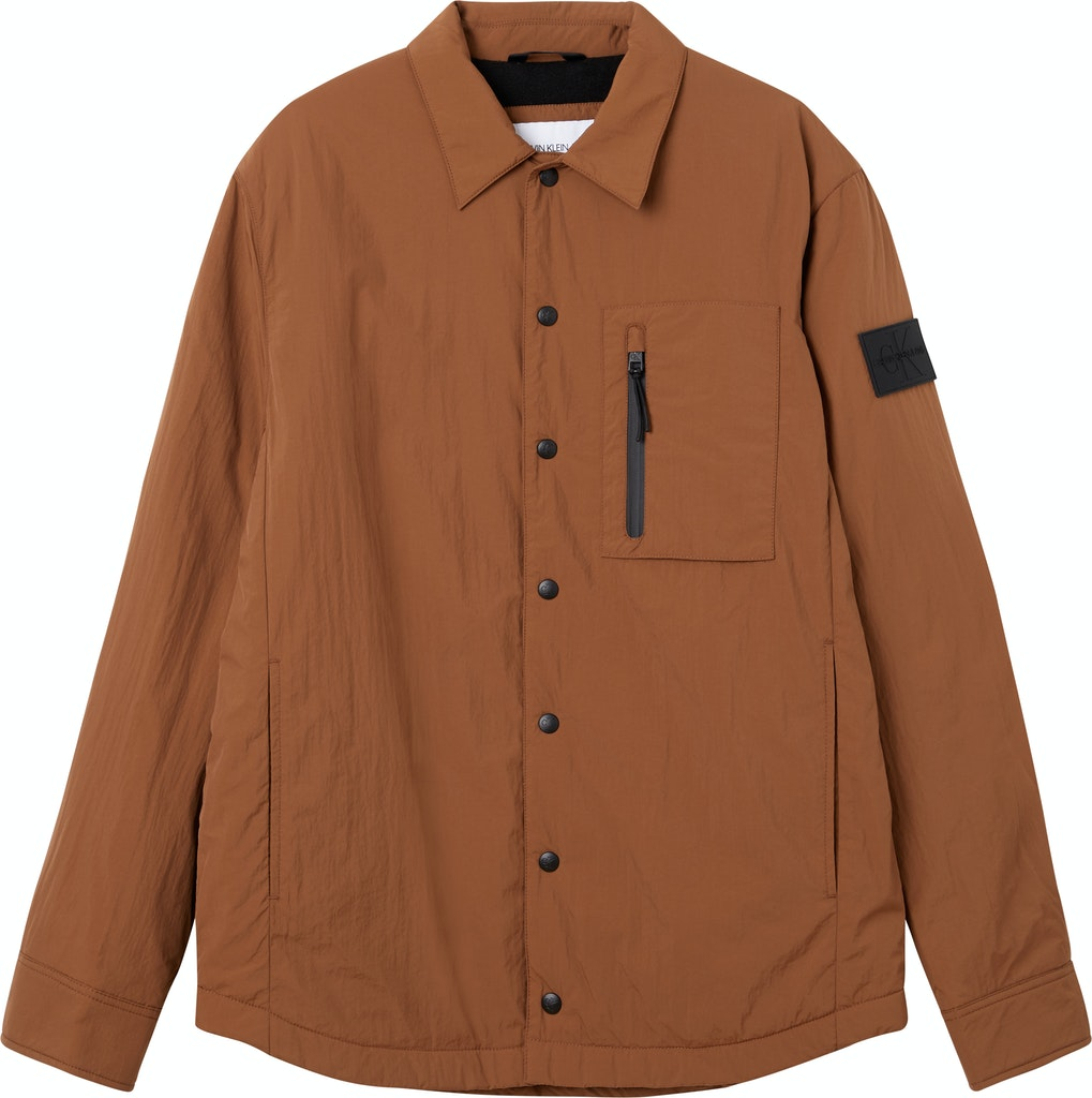 Fleece Lined Overshirt