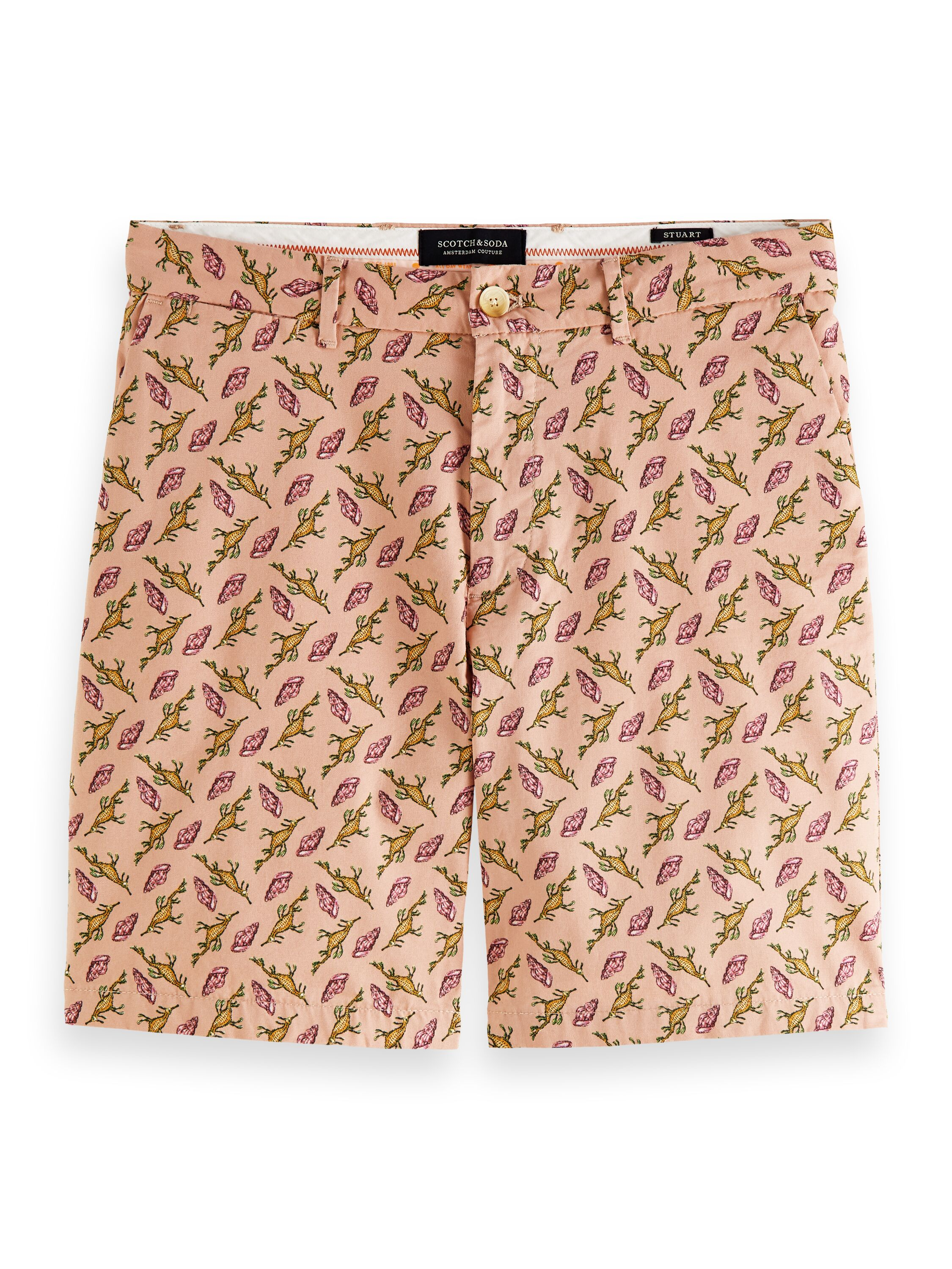 All Over printed Chino Short