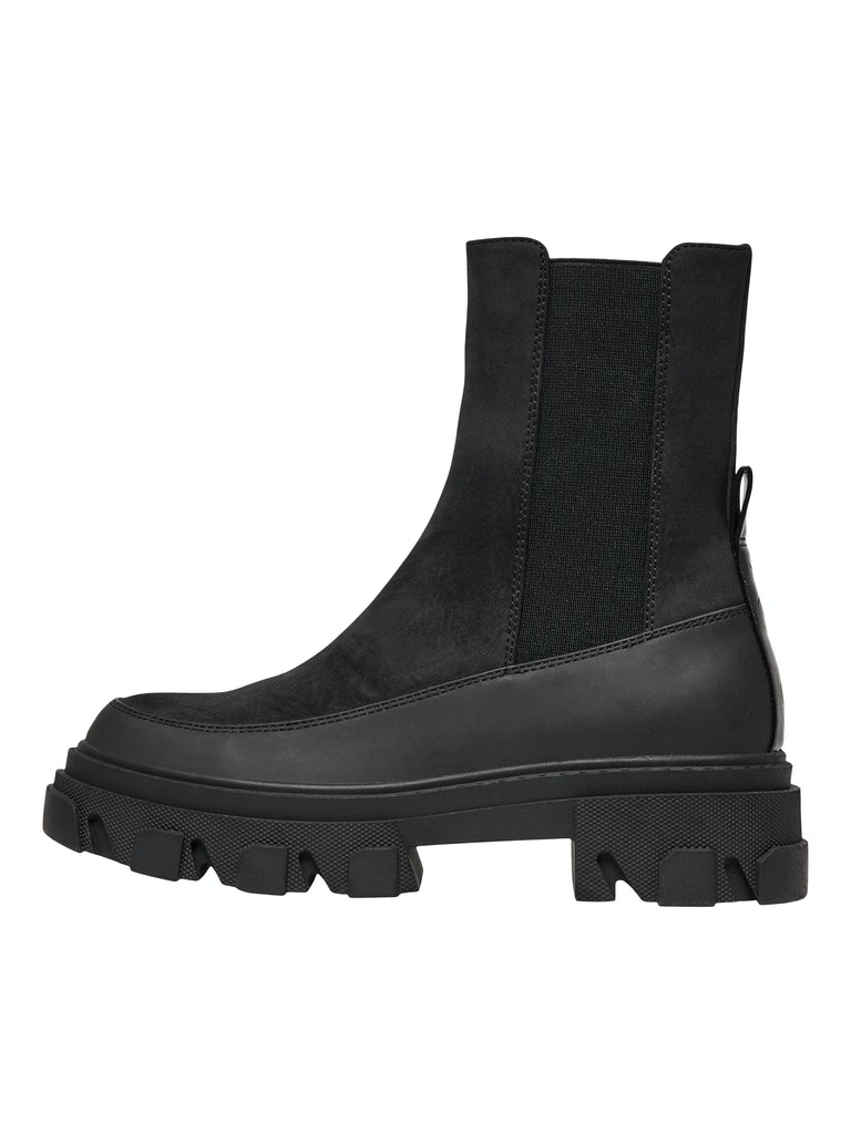 Nubuck Chunky Boot