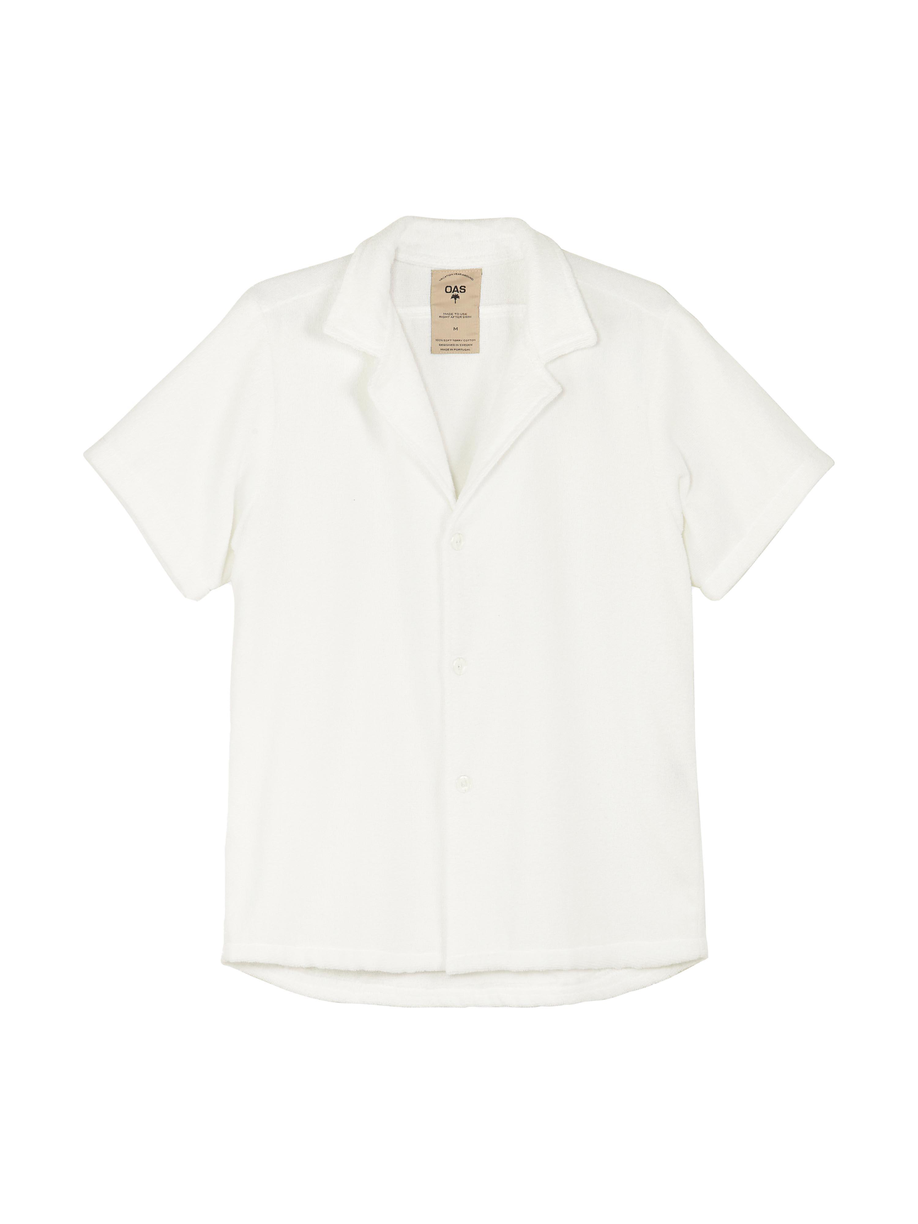White Cuba Terry Shirt