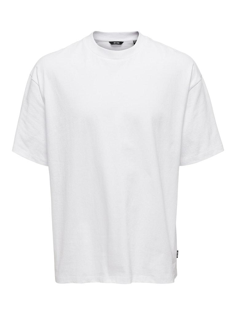 Oversize Shirt mit Back Print