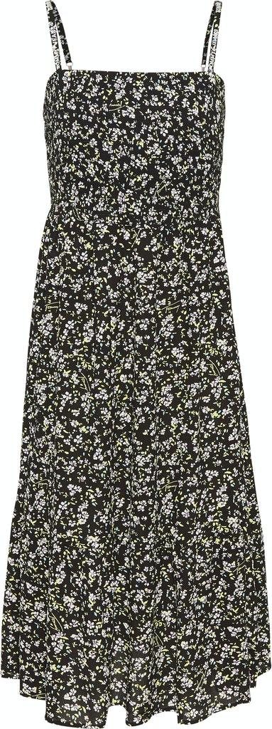 Midi Kleid mit Floral Print