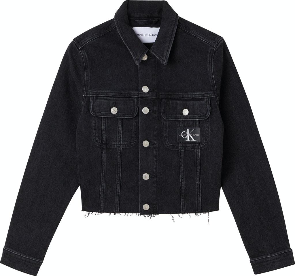 Cropped 90S Denim Jacket