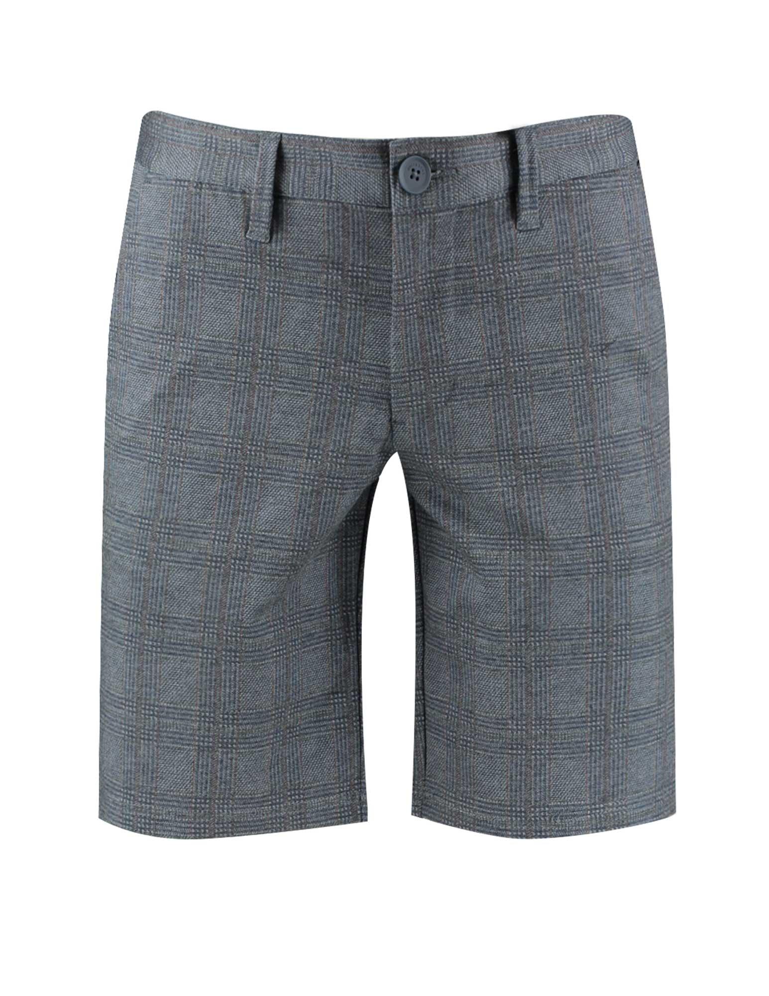 Karierte Chino Shorts