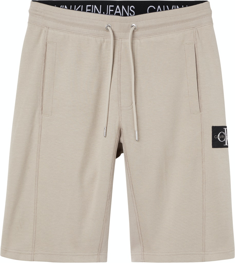 Jogging-Shorts mit Waffeln-Strickmuster