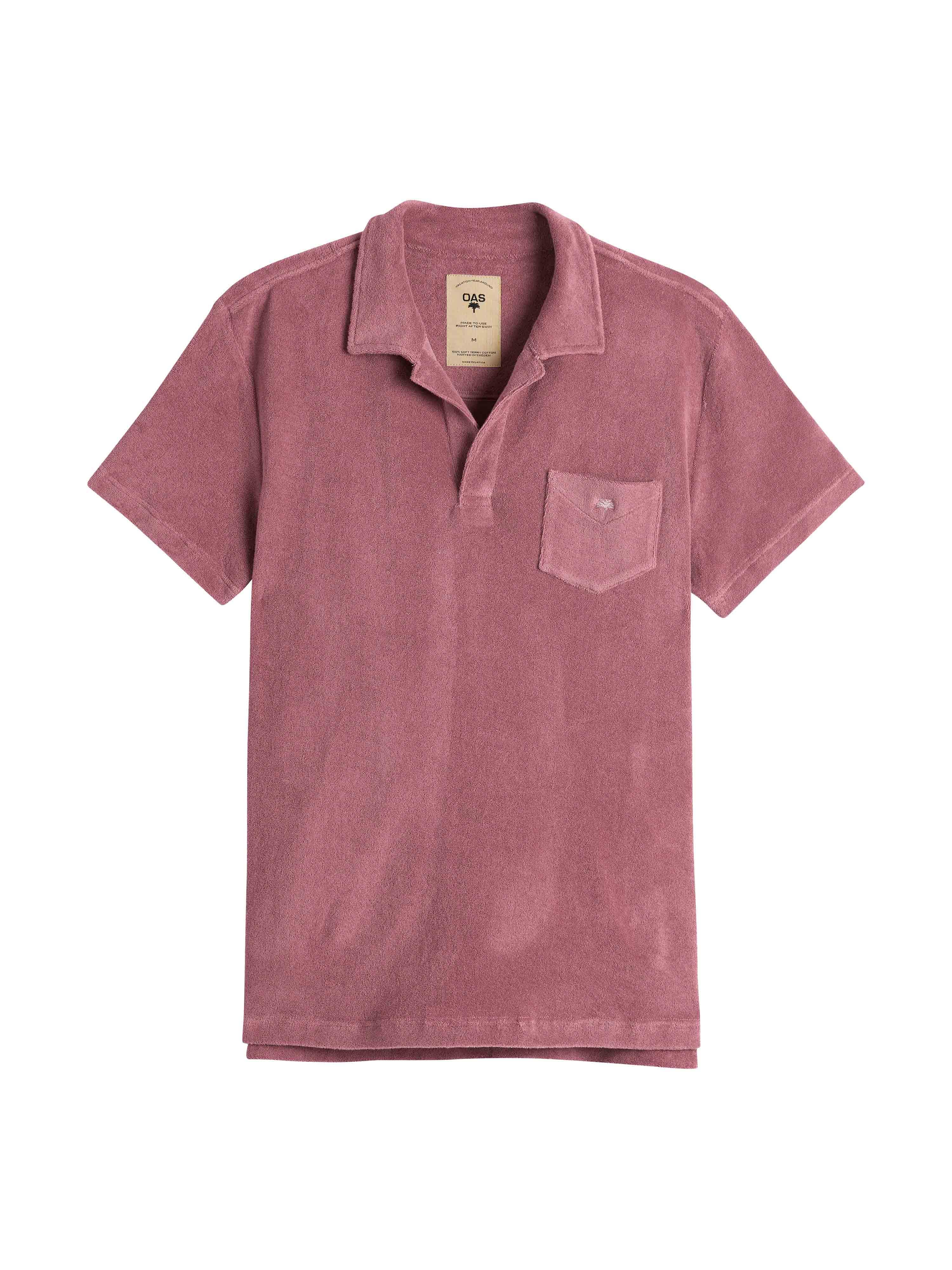 Dusty Plum Terry Shirt