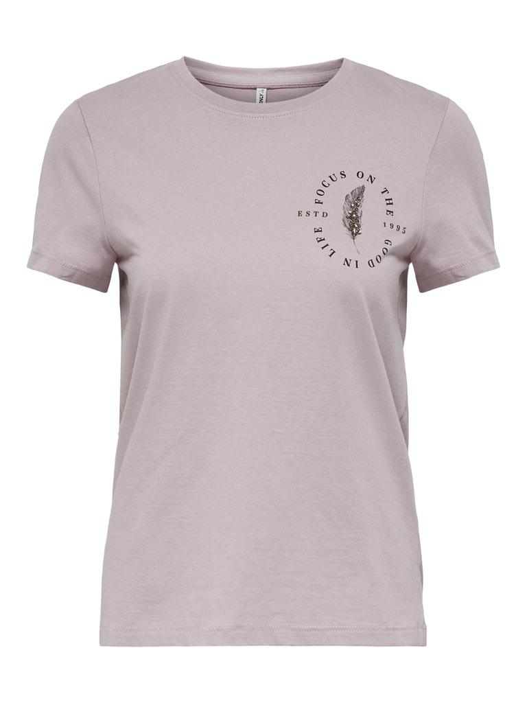 T-Shirt mit Aufdruck aus Bio-Baumwolle
