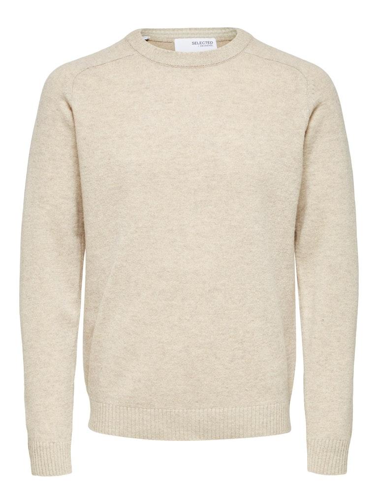 Rundhals Pullover aus superweicher Wolle