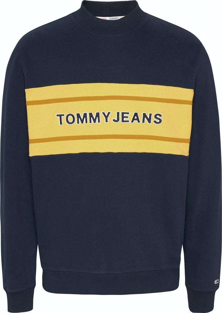 Tommy Band Mock Sweatshirt
