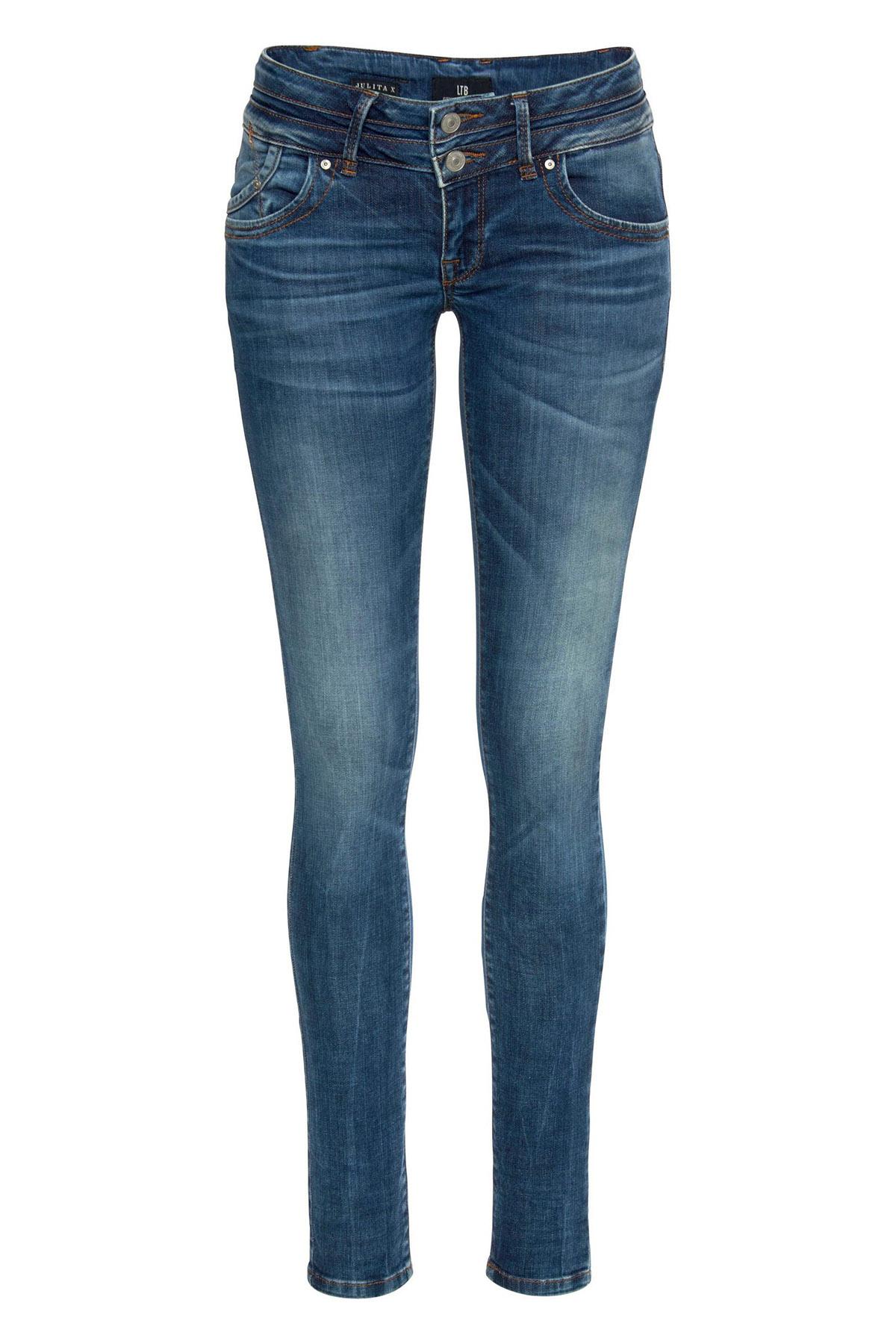 "Skinny Fit Jeans ""Julita"" Angellis Wash"