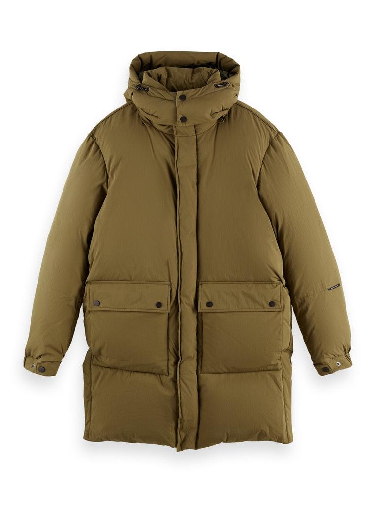 Organic Cotton Blend Puffer Jacket