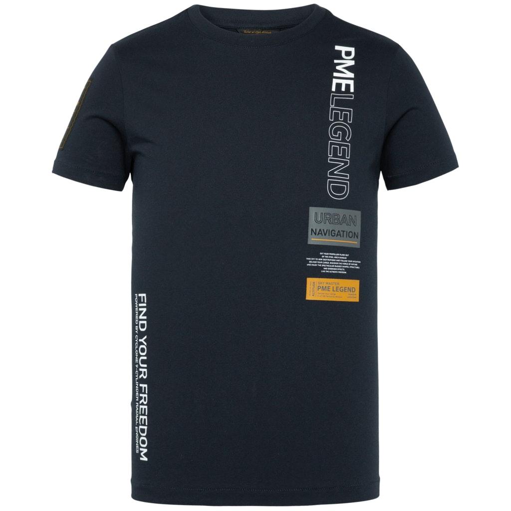 Basic T-Shirt aus Jersey