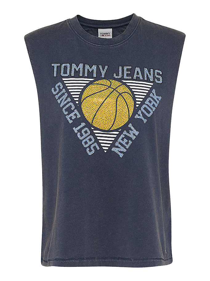 Relaxed Basketball Tank