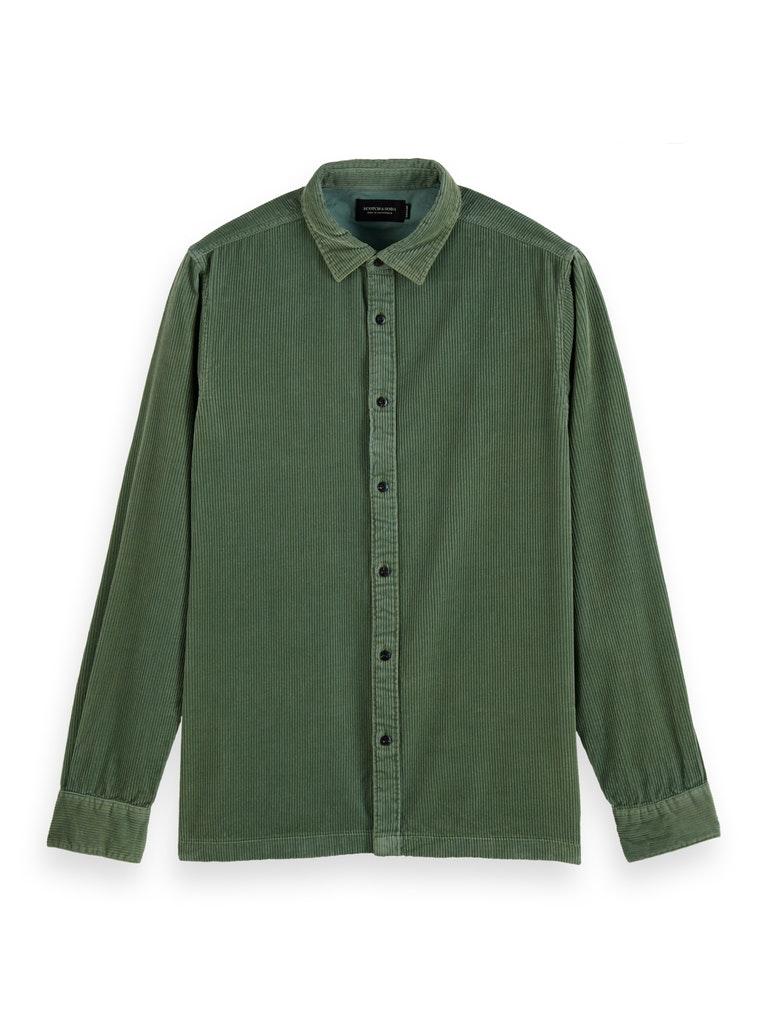 Softes Hemd aus Kord