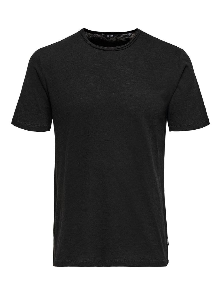 """Meliertes Rundhals T-Shirt """"Albert"""""""