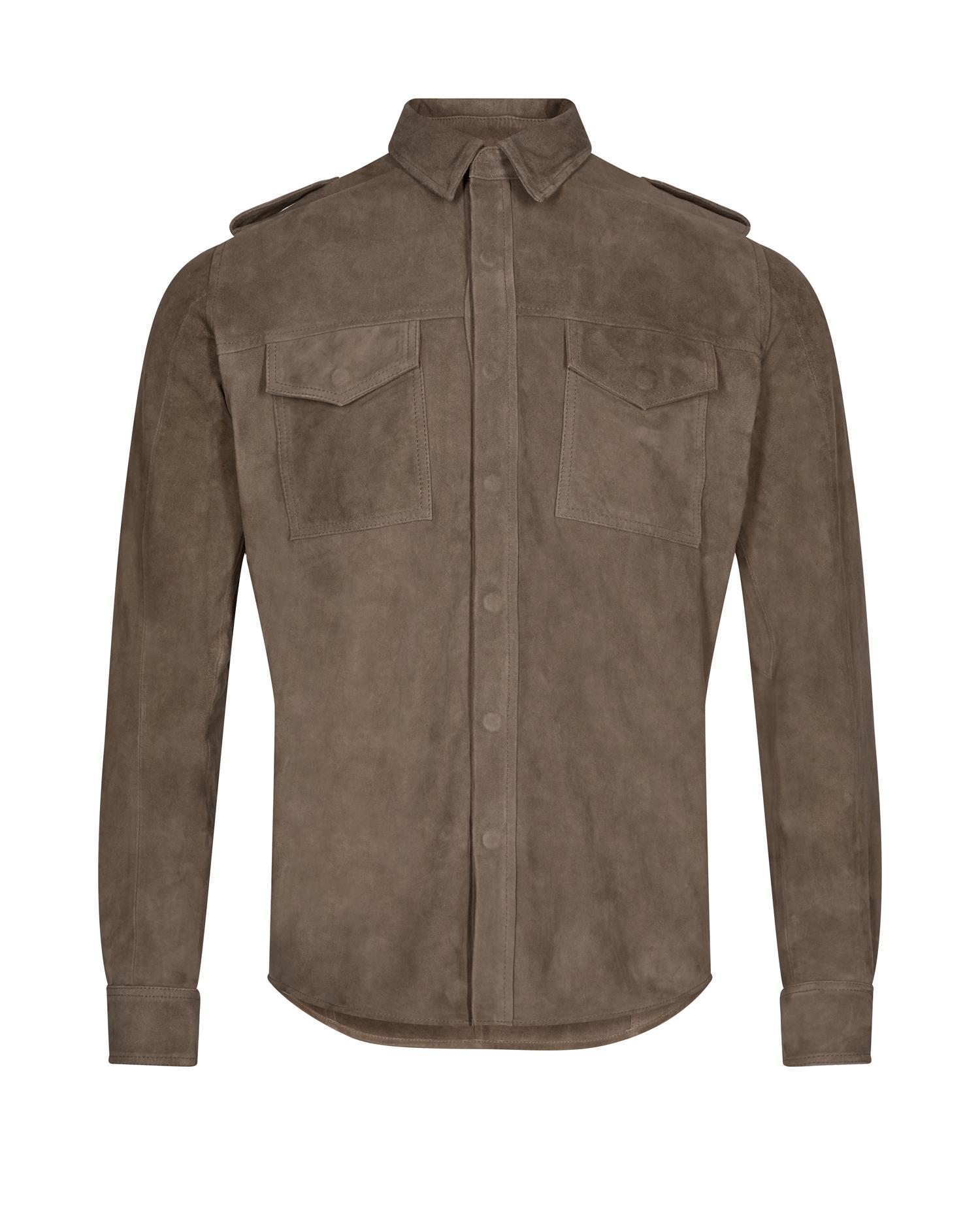 Ollie Leather Shirt