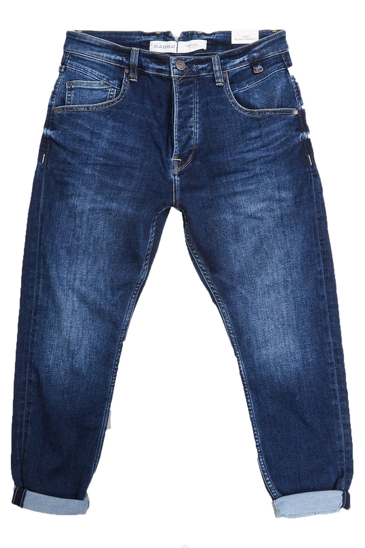 """Tapered Fit Jeans """"Alex""""K3787 Sanza Mid"""