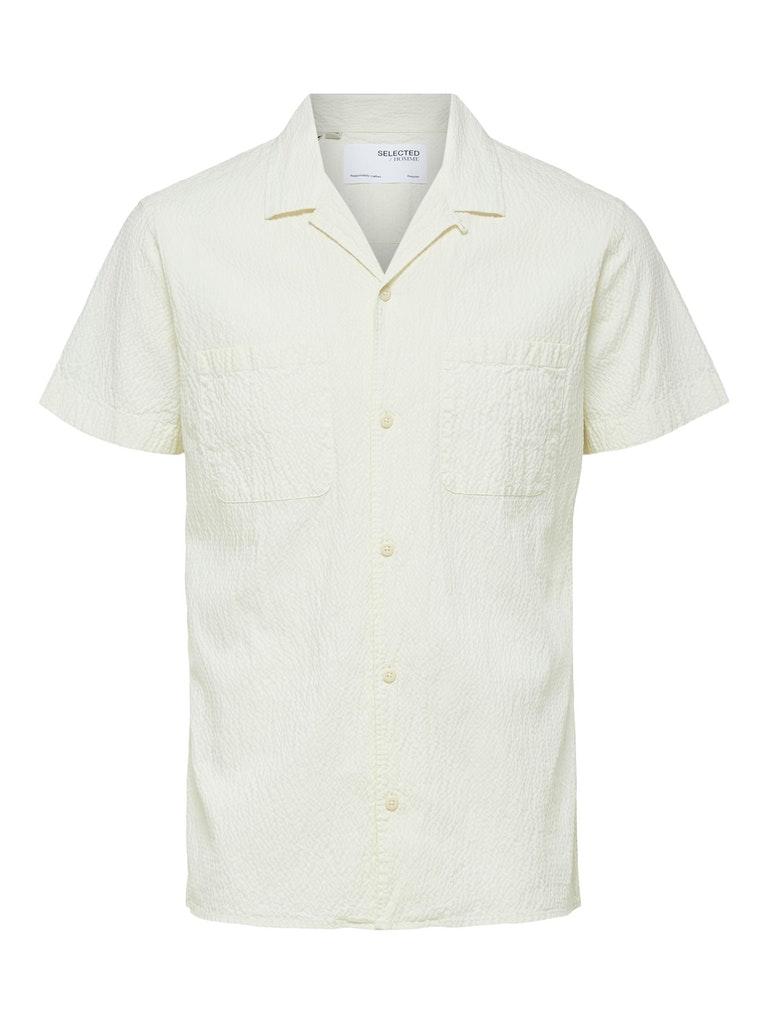 Seersucker Freizeit Hemd