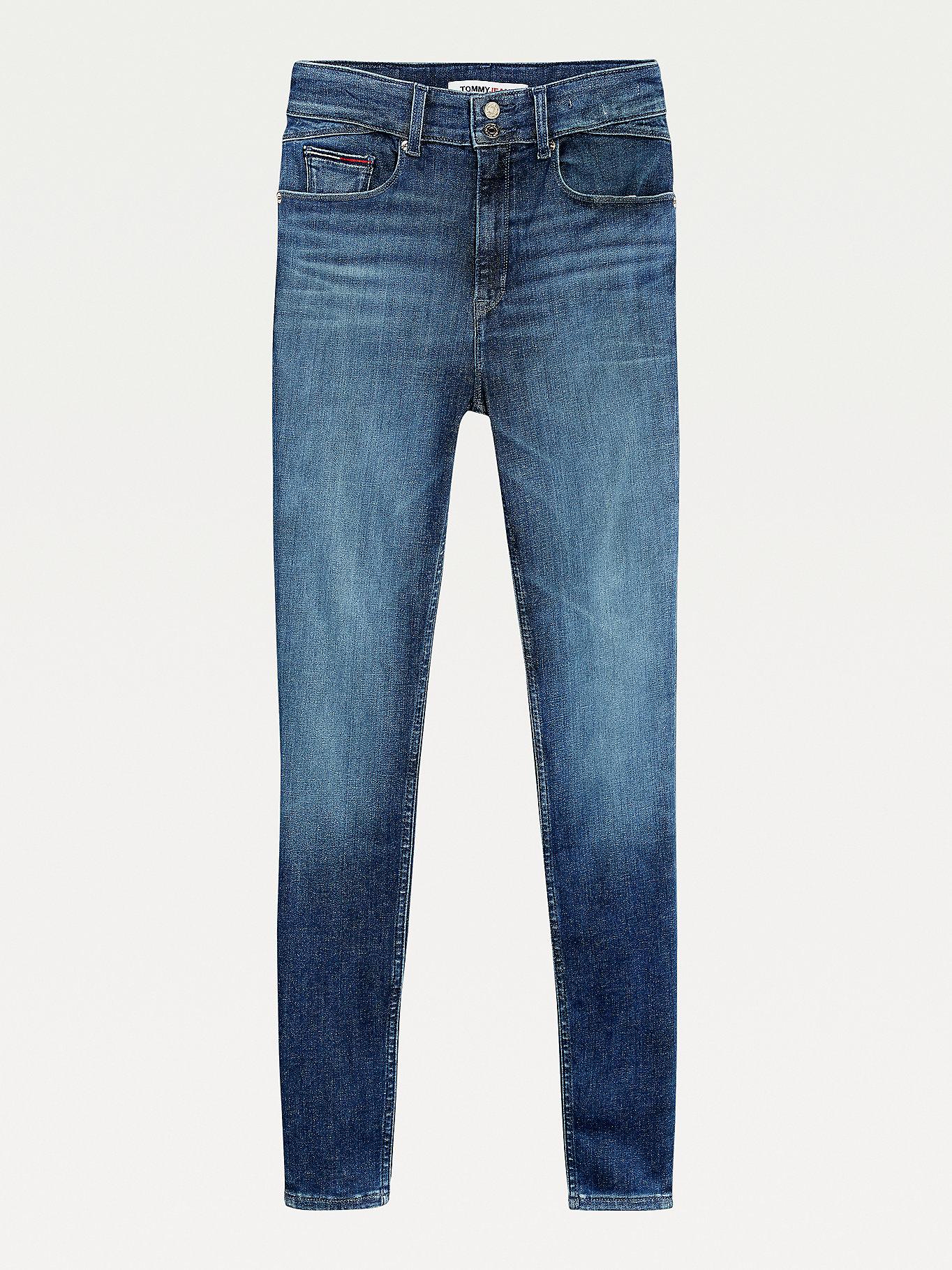 Shape Skinny Jeans mit hohem Bund