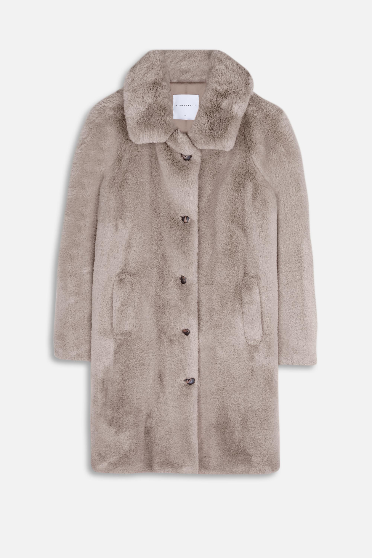 Zonna Faux  Long Coat