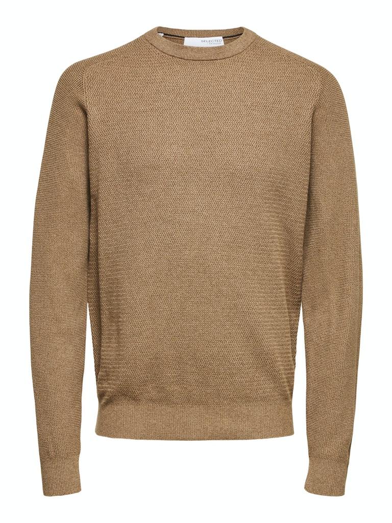Weicher Pullover mit Struktur  aus Bio-Baumwolle