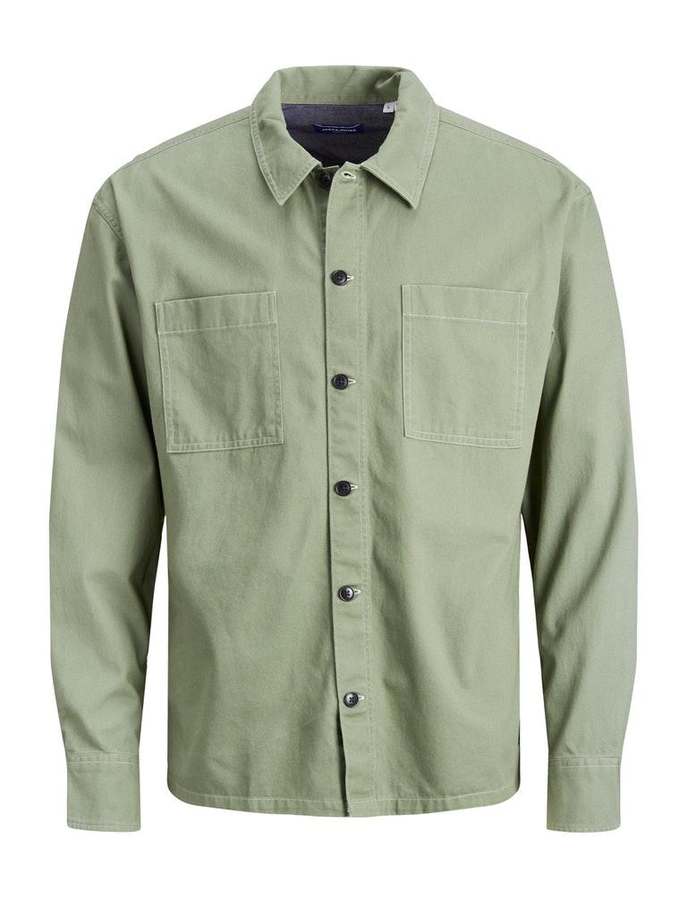 Baumwoll-Twill Overshirt