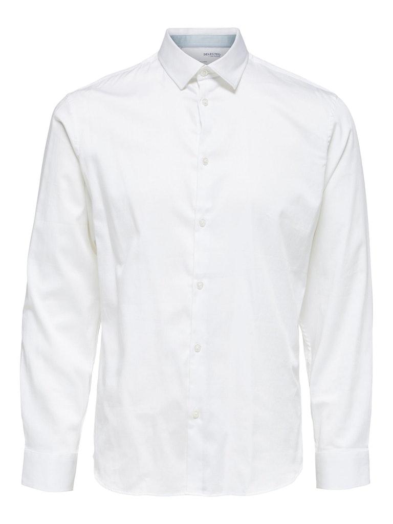Schmales Hemd aus Bio-Baumwolle und Elasthan