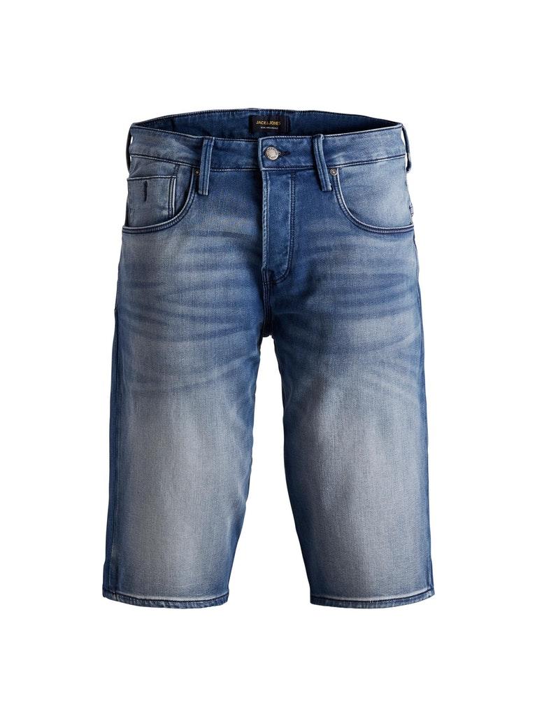 Lange Indigo Shorts