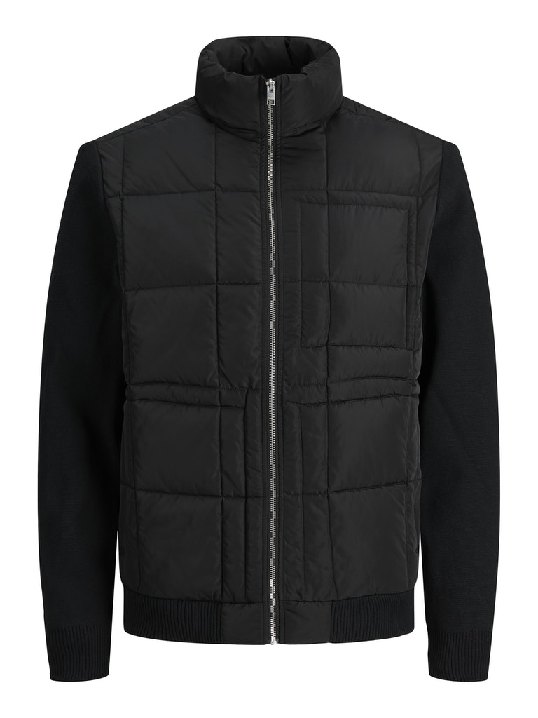Quilted Knit Jacket