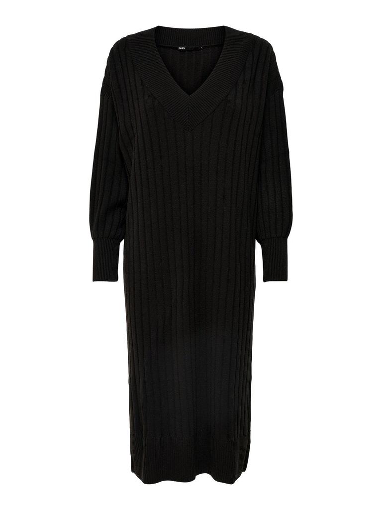 New Tessa Midi V-Neck Kleid