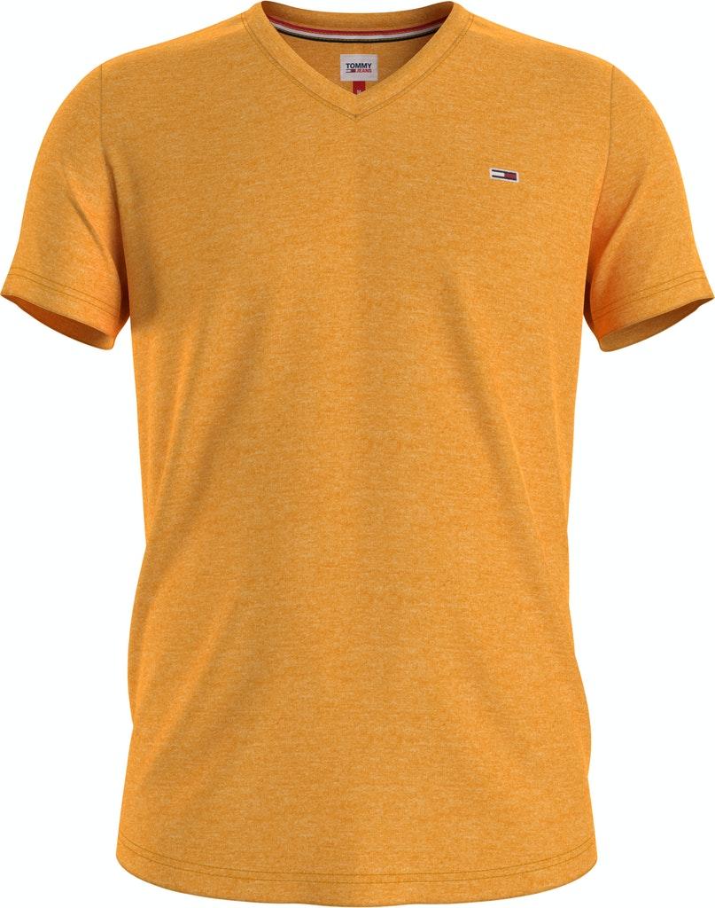 "Meliertes V-Neck T-Shirt ""Essential"""