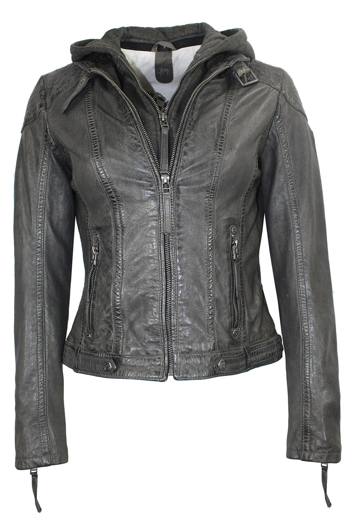 "Leather Jacket ""Cacey"""