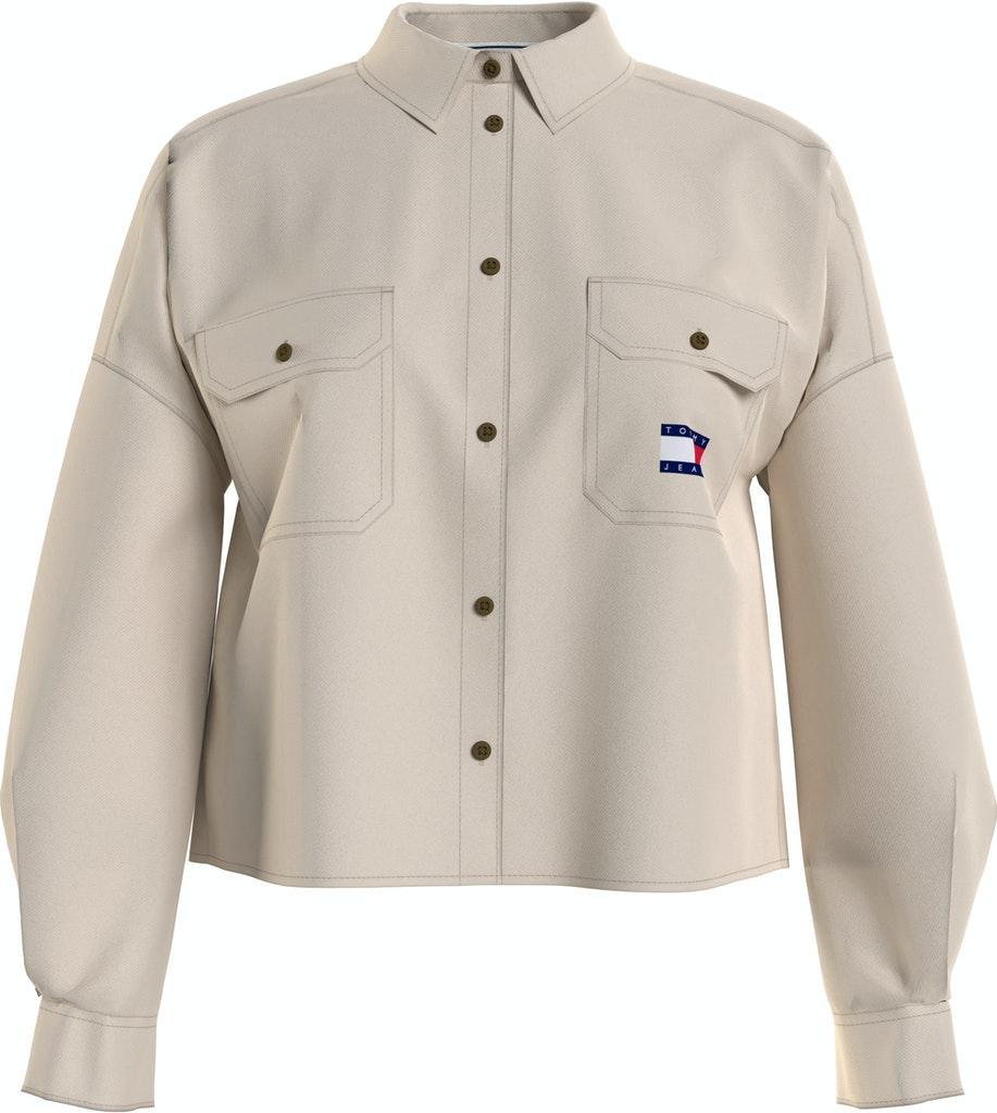 Cropped Overshirt Jacket