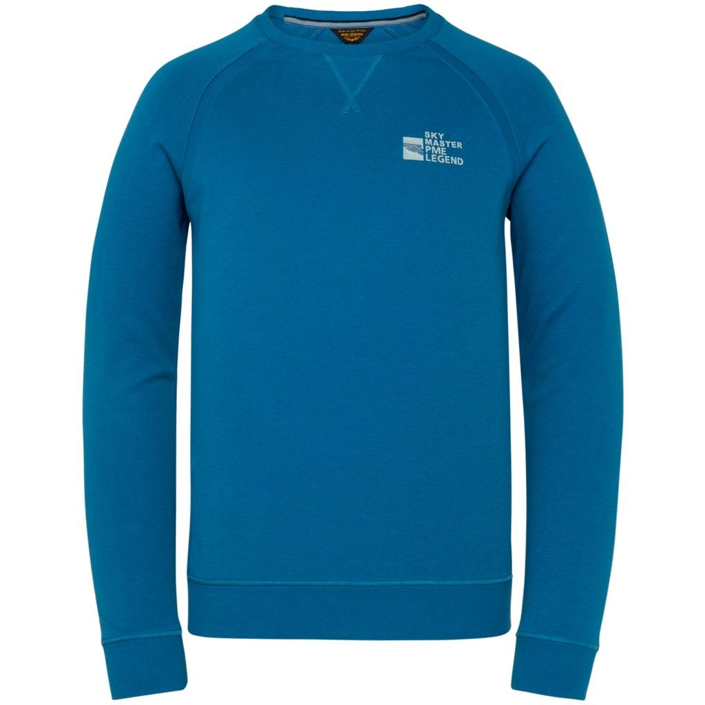 Leichtes Basic-Sweatshirt mit Raglanärmeln