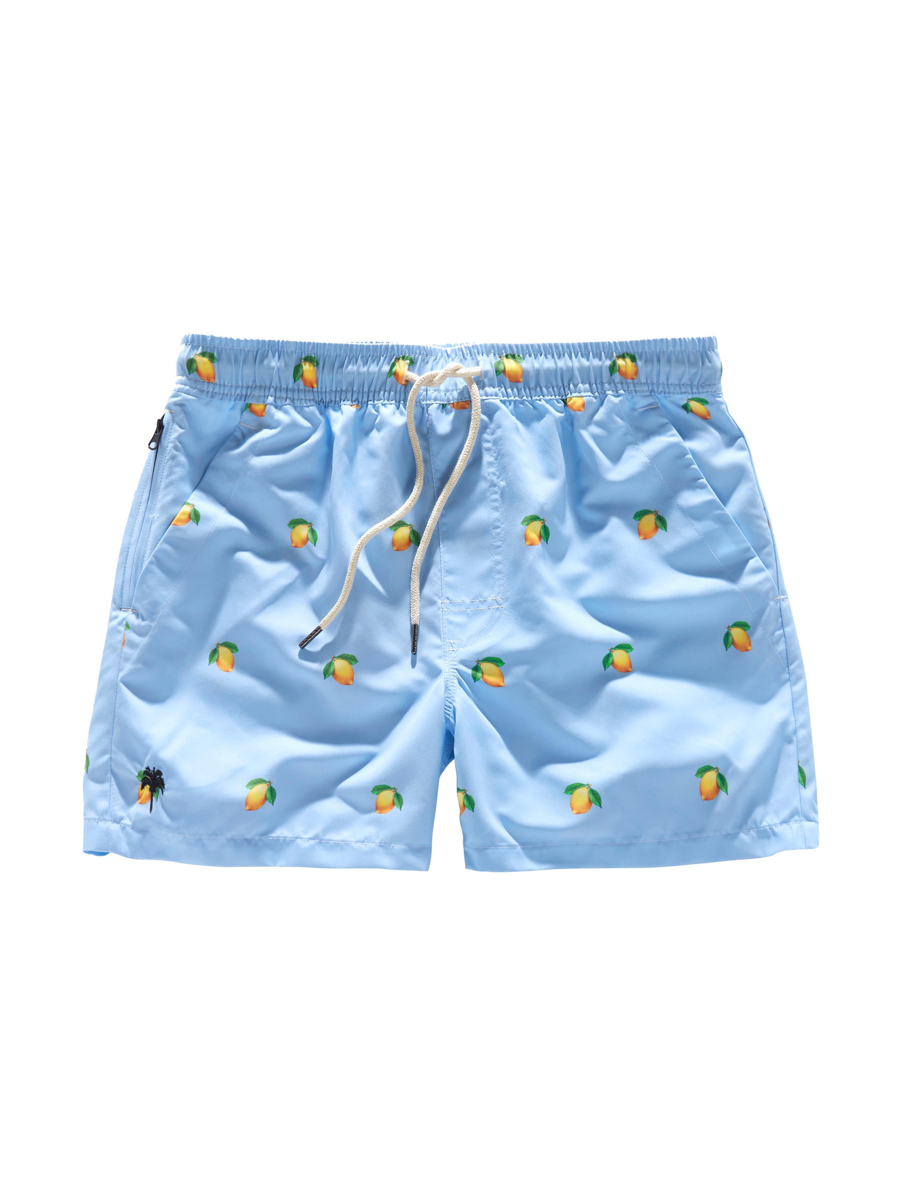 Blue Lemon Swim Shorts
