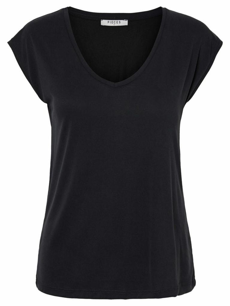 """Basic V-Neck T-Shirt """"Kamala"""""""