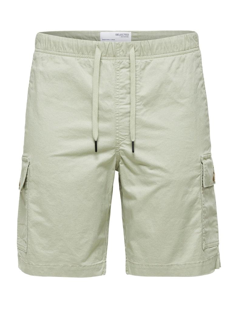 Atmungsaktive Leinen Shorts