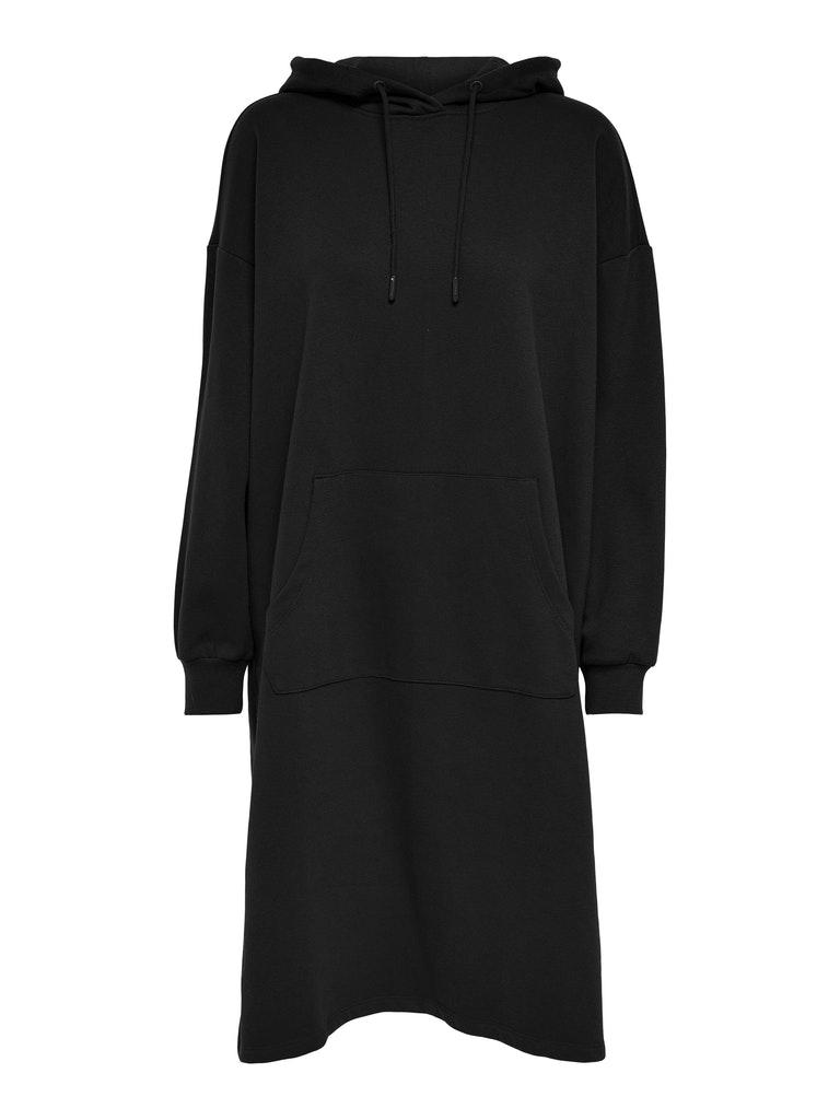 Oversize Sweat-Kleid mit Kapuze