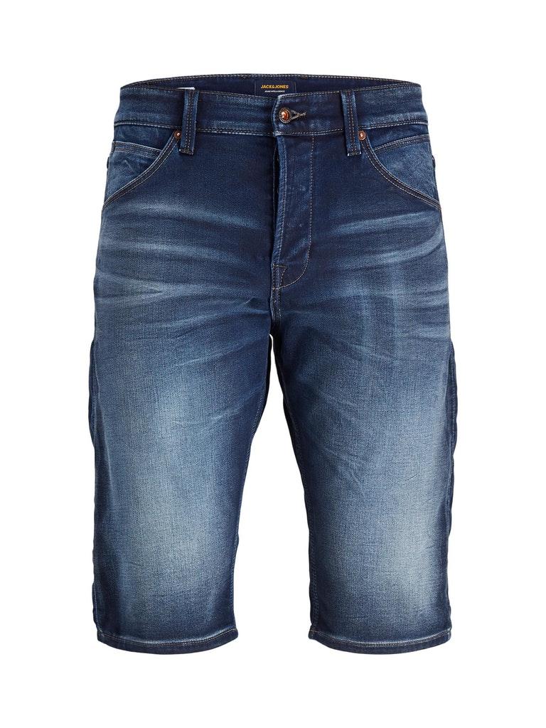 Lange Denim Shorts