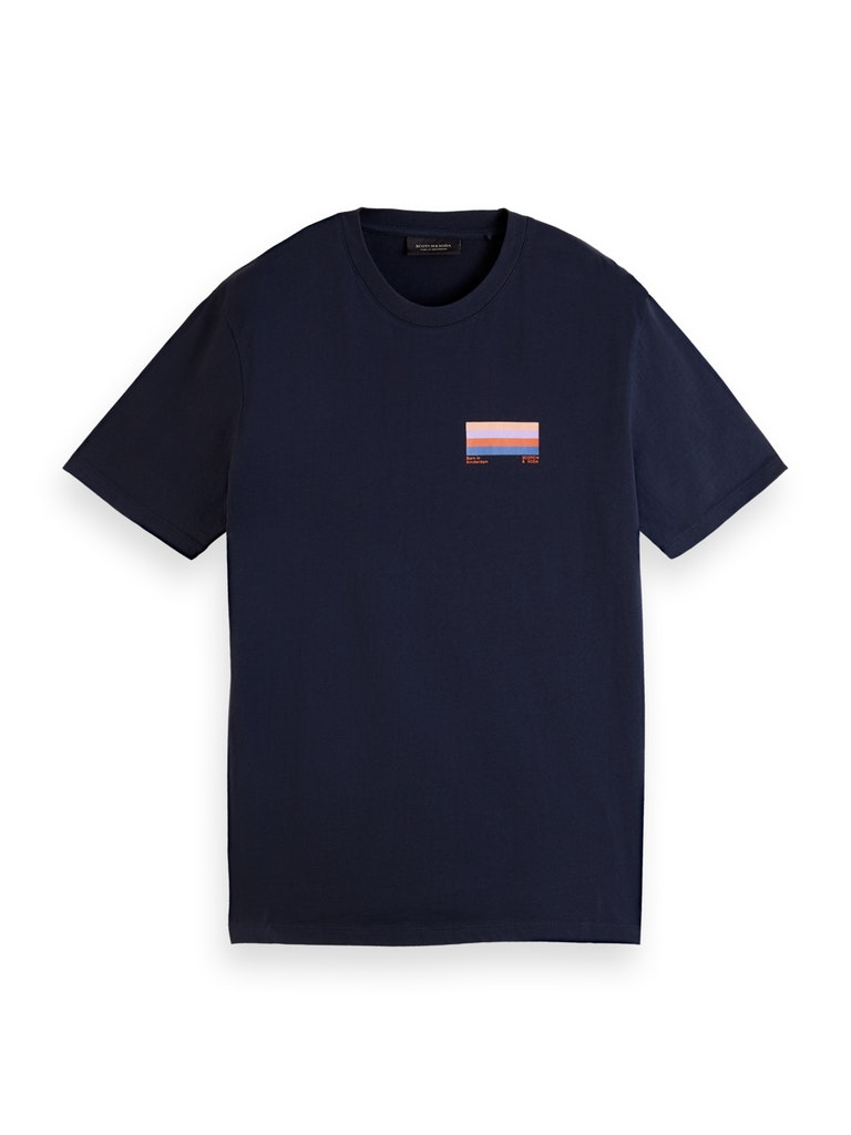 T-Shirt aus Bio-Baumwolle mit Grafik