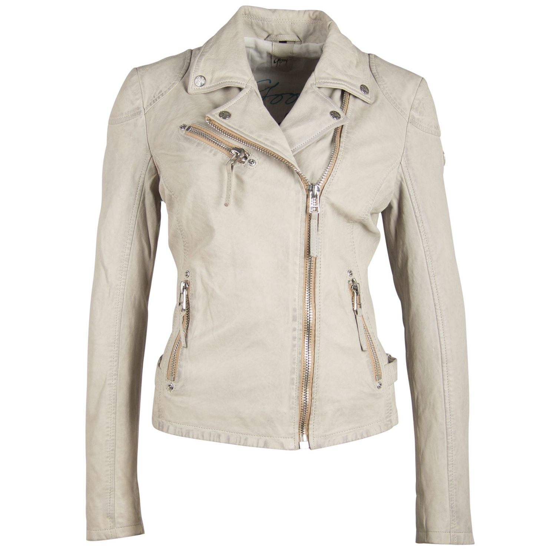 "Leather Jacket ""PGG"" Sand"