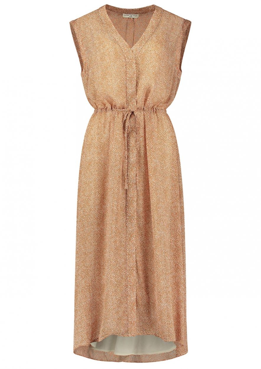 Maxi Safari Kleid aus Viskose